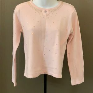 Baileys Point Pink Sweater